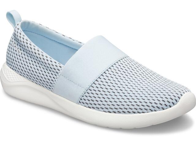 Crocs LiteRide Verkko Jalkaan pujotettava Naiset, mineral blue/white